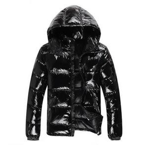 Высокое качество модные дизайнерские товары новые мужчины пуховик пуховики Мужские открытый толстый теплый перо человек зимнее пальто