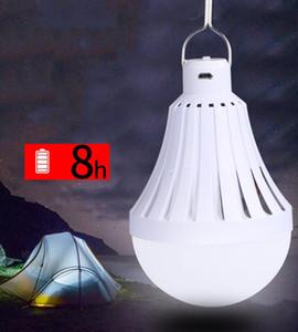 USB de charge ampoule portable de charge par LED Lampe de secours Ampoule Tente Camping Led rechargeable Lampadas