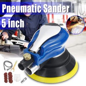 5 pouces / 6 pouces pneumatique orbitale aléatoire Sander Polisseuse Air Powered Orbital Polisseuse polissage