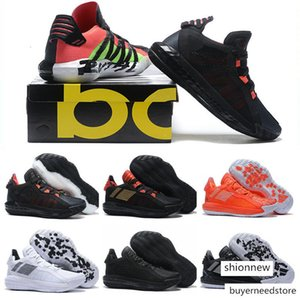 Starting Sneaker What the Damian Lillard VI Dame 6 Rose Flame BHM Mens Basketball Shoes for Cheap White Black Gold Sports Trainers Size7-12