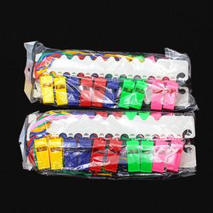 엔터테인먼트 심판 Whistle 플라스틱 매체 번호 로프 지원 Weiwei Refuelling Whistle Factory 10 팩 판매