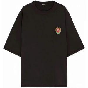 20SS High Street CALABASAS Season5 Stickerei-Abzeichen Weizenohren Tees Mode LOOSE Shirts Cotton Männer Paare Designer-T-Shirts HFXHTX226