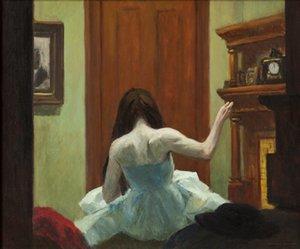 Edward Hopper Nueva York Interior Home Decor pintado a mano de la impresión de HD pintura al óleo sobre lienzo arte de la pared de la lona representa 200208