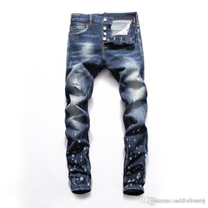 2020 Mens Designer Jeans New Style Casual Skinny Sweatpants Men Designer men jeans motorcycle skinny jeans mens pants