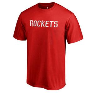 핫 판매 제임스하든 반팔면 러셀 웨스트 브룩 농구 T 셔츠 여름 느슨한 크기 사용자 정의 어떤 이름과 번호
