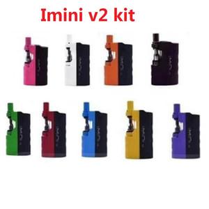 100% Original Imini V2 Kit 650mAh Preheat Box Battery Mod with 0.5  .0ml Vape Cartridge for Thick Oil 2