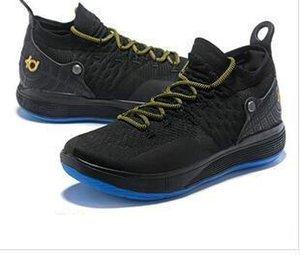 TOPNew Дизайнерская обувь Kd 11 Баскетбол обувь Дюрант 11s Увеличить бегущих Спортивный Off Чистка Белый люкс Kd Ep Elite низкий Спорт тапки