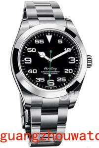 2019 Luxo Selling Hot Air King aço inoxidável Sapphire Vidro Espelho Automático Mecânica Mens Watch Relógios de pulso
