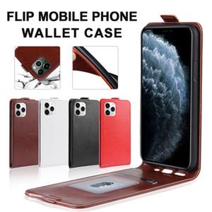 حقيبة محفظة جلدية ل iPhone 11 Pro Max Samsung S10 S20 زائد Huawei P40