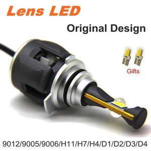X70 E70 بدلا من ذلك XHP70 9005 9006 9012 LED ضوء سيارة الجبهة H7 LED في canbus H4 H11 6000K D1 15600LM D3 D4 الضباب مصباح لمبة المصباح كيت