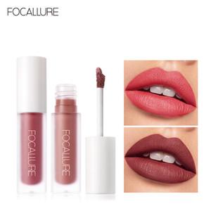 FOCALLURE labios aterciopelado pintalabios aparearse con textura de terciopelo lápiz labial maquillaje de larga Duración Tinte de labios sin pegaj