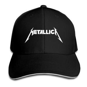 Boné de beisebol Metallica hard metal rock Band Imprimir Mens Womens Cat Caps bonés de beisebol do Hip Hop Ajustável Snapback Caps Chapéus Homem Femal chapéu