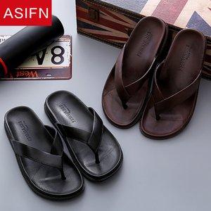 ASIFN hommes plage Tongs pantoufles Hôtel Femme Homme Salle de bain Slides Summer House Ladies Zapatos De Hombre Chaussures Hommes