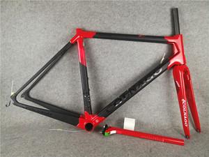 أحمر أسود T1100 UD ماتي لامعة Colnago لC64 الأطر الطريق الكربون مفهوم C60 إطارات 48 50 52 54 56CM الشحن المجاني