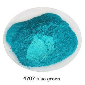 500 gram mavi yeşil Renk Kozmetik inci Mika Inci Pigment Toz Toz DIY Nail Art Lehçe ve Makyaj için Göz Farı, ruj