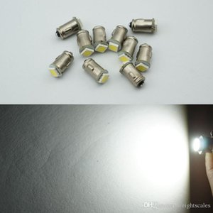 BA7S 다이오드 7mm ROUND 1 LED SMD 12V t2의 주도 자동 악기 빛 인테리어 베 요넷 자료 대시 보드는 100PCS 램프 전구