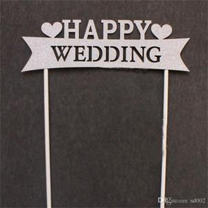 Bolo Decoração Da Bandeira Do Casamento Fontes Do Partido Criativo Arranjo De Aniversários Em Forma De Coração O Amor é Doce Feliz Aniversário Bardian 3 5plC1