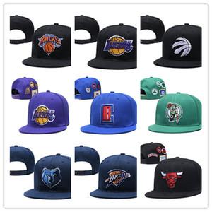 2020 Nova estilos de beisebol ajustável snapbacks Hip hop chapéu Plano Equipa Desportiva A alta qualidade bordados Caps para homens e mulheres cap basquete