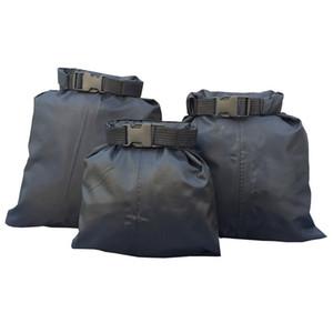 1.5L 2.5L 3.5L 3Pcs Set Nylon Waterproof Bags Carrying Valuable Perishable 30D DuPont Cordura Coated Silicon Bag High Quality