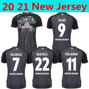 20 21 SV Werder Bremen city Soccer Jerseys away third 2020 2021 FRIEDL KLAASSEN SELKE RASHICA BARTELS Werder Bremen home Football shirts