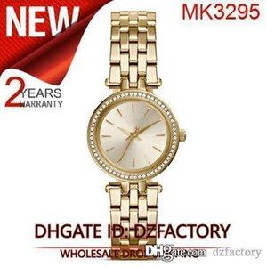 Drop shipping Bracelet cristal en acier inoxydable Petite femmes MK3294 MK3295 MK3298 MK3323
