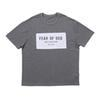 19ss Hip Hop Via Grey Collection TEE Via Skateboard T-shirt Uomini di Hip Hop di estate delle donne di modo casuale dei manicotti Tee HFYMTX506
