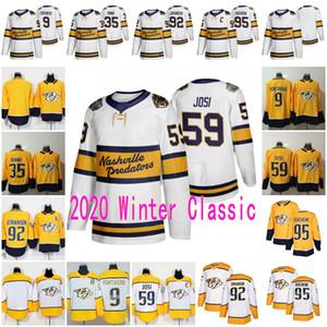 Nashville Predators 2020 Inverno clássico Jersey Filip Forsberg Pekka Rinne Roman Josi Matt Duchene Ryan Johansen Homens Lady Youth Hockey Jersey