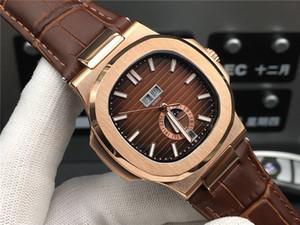 Super 55 5726 / 1A-1 montre Luxus automatische Uhr raffinierter Stahlmantel Hülse 44,5 mm * 12mm 50m wasserdicht Saphir anti-scratch Glas