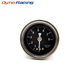 Automobil Motorräder Flüssigkeit gefüllte Benzindruck-Manometer BLACK egulator R32 R33 R34 S15 Universal-JDM YC100491