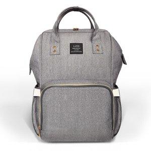 Diaper Bag Maternidade Fralda Mochila Grande Capacidade Enfermagem Viagem Backpack preservação do calor saco de fraldas mochila