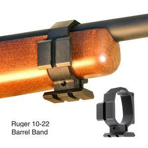 Tactical Barrel Banda Para Ruger 10/22 Dois Picatinny trilhos Sling Slot Expandir Acessório de Montagem preto