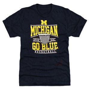 Coliseu de Universidade Men Of Michigan Fan Tee 100% algodão