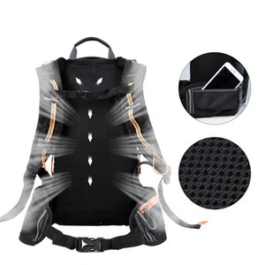 WEST BIKING Cycling Foldable Bags Waterproof Bicycle Bag Cycling Backpack Breathable 10L Ultralight Climbing Cycling Backpack