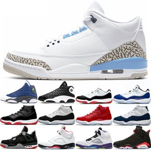 Trainers men women 11s basketball shoes 11 White Bred Concord Blue UNC Fire Red OG Black Reverse He Got Game Mens Sports Sneakers