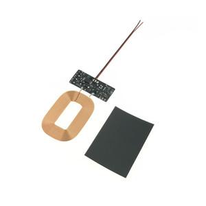 Cwxuan 유니버설 QI 충전기 수신기 모듈 무선 충전 PCBA 보드 수신