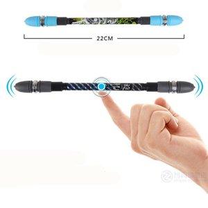Aucun ZG-5091 à bille penspinning Antiderapant Spinning Coated Pen Apprentissage Fournitures de bureau