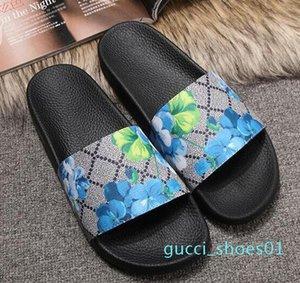 Europ Slayt Yaz Moda Geniş Düz Kaygan ile Kalın Sandalet Terlik Bay Bayan Sandalet Tasarımcı Ayakkabı Terlikler Slipper36-45 g01