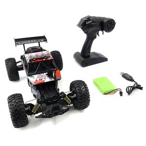Hot 1 18 Scale 2.4Ghz 4WD High Speed RC Crawler Climber Buggy Off-Road Rock Electric RC Remote Control Car RTR