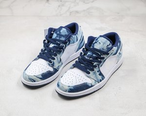 2020 The New top Jean Blue quality Sneakers men women Basketball sneakers CZ8455-100 Shattered Backboard Sizs36-45