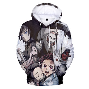 3D Demon Slayer Kimetsu no Yaiba hoodie men women 3D Hoodies funny Harajuku Hot sale Anime Demon Slayer print pullover