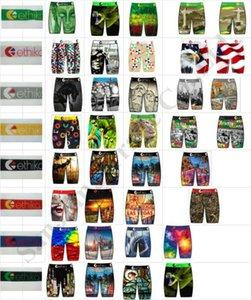 Мужские Купальники пляжные шорты Quick Dry белье Длинные Трусы скейтборд Street Модные Спортивные шорты Боксеры Брюки C111909