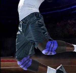 En çok erkek kadın Eğitimi Basketbol Dizlik Sıkıştırma diz Pad Örme Sıkıştırma Elastik Diz Kol Futbol futbol Pads Kneepad