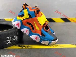2019 New Barrage Mid QS Uptempo Mens Outdoor Shoes Goam Posites One Penny Hardaway Pippen progettista Sneakers