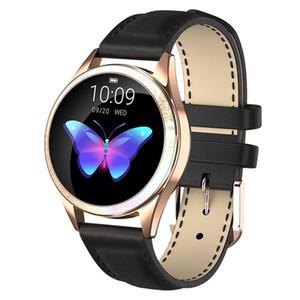 IP68 Водонепроницаемый смарт-часы женщины прекрасный браслет монитор сердечного ритма мониторинг сна Smartband Connect IOS Android KW20