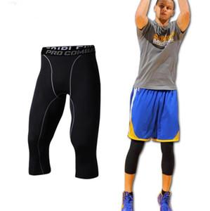 sıska tozluk pantolon koşu tayt basketbol spor pantolon vücut geliştirme joggers çalışan Sportwear Erkek sıkıştırma pantolon spor