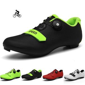 Cycling Shoes Homens Mountain Bike Corrida de calçados esportivos Scarpe MTB Self-Locking Estrada Sidebike Sneakers para as Mulheres Zapatos De Hombre