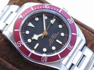 Hot Tudorrr Luxus Herren-Uhr-Edelstahl-automatische HERITAGE BLACK BAY ROTOR MONTRES Designer Herrenuhren Mechanische Uhren