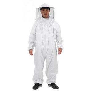 Heiße Verkaufs-Baumwoll Imker Bee Anzug Berufsganzkörper-Bee Remover Handschuhe Hut Kleidung Jaket Schutzanzug Bienenzucht Equ