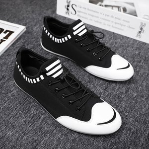 OLOMM Rua Tendência Casual Man Sneakers confortável Outdoor Men Casual sapatos de borracha resistente Homens sapatos de caminhada Zapatos Hombre