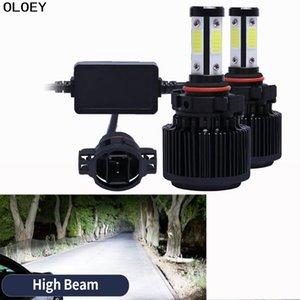 2 Pcs LED Car Headlight With Canbus 50W 6000K H7 LED H4 H1 H11 H3 9005 9006 Auto Headlamp Fog Light Bulb12V 24V Auto Head Lamp